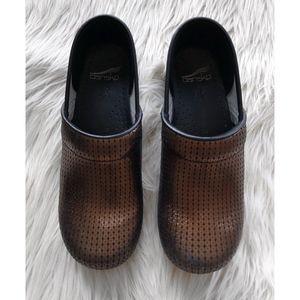 DANSKO   Professional Copper Sequin Slip On Shoes